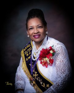 Sis. Audrey M. Hopkins Grand Worthy Matron
