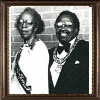 Mae G Johnston and William Revels  1986-1988